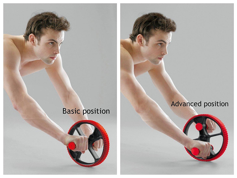 71aSXMxRaVL. UL1500  - AB Exercise Wheel (man) Body Sculpture