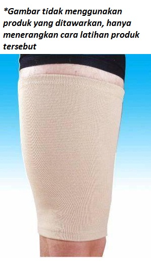 elastic thigh support workout 1 - Elastic Thigh Support Body Sculpture - ASSW8