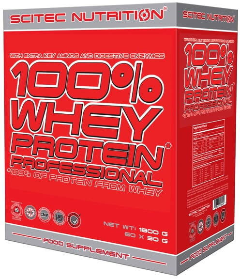 whey protein professional box - Scitec Nutrition 100% Whey Protein Professional
