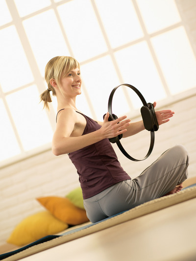 pilates ring workout 6 - Pilates Ring I Care