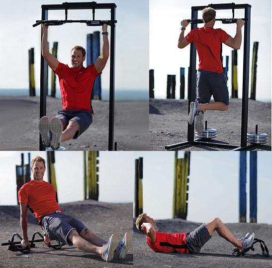 Iron Gym Xtreme 3 - Kettler Multi Grip Chin Up Bar