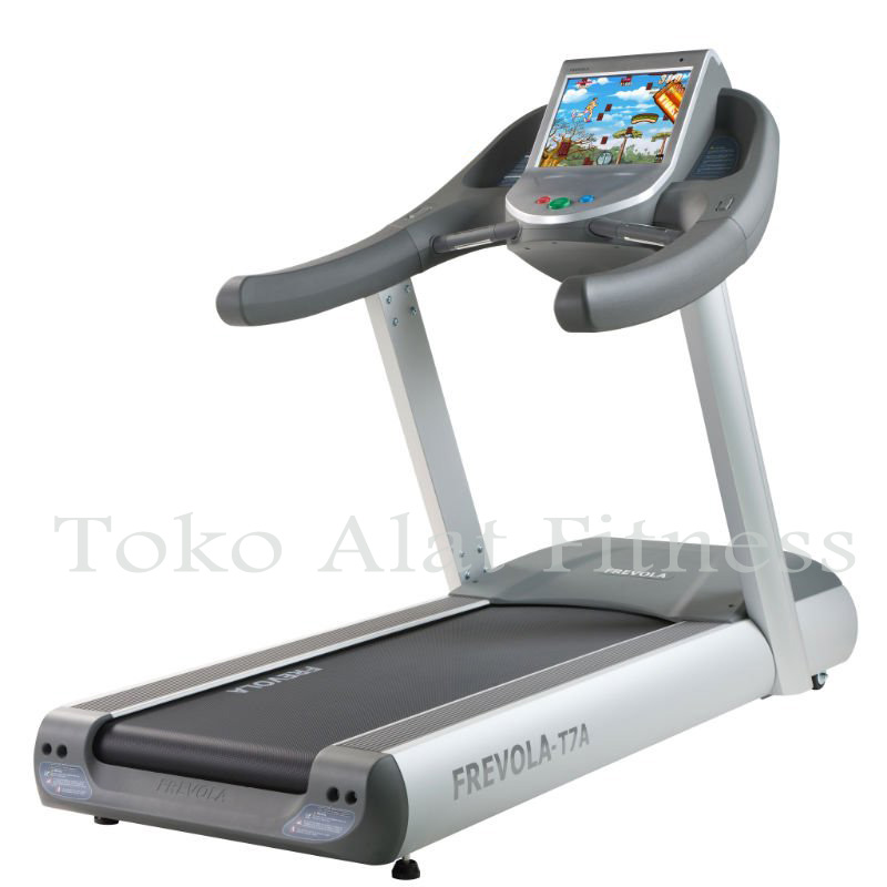 T7A REAL wtr - Commercial Frevola Treadmill 5HP-AC T7A