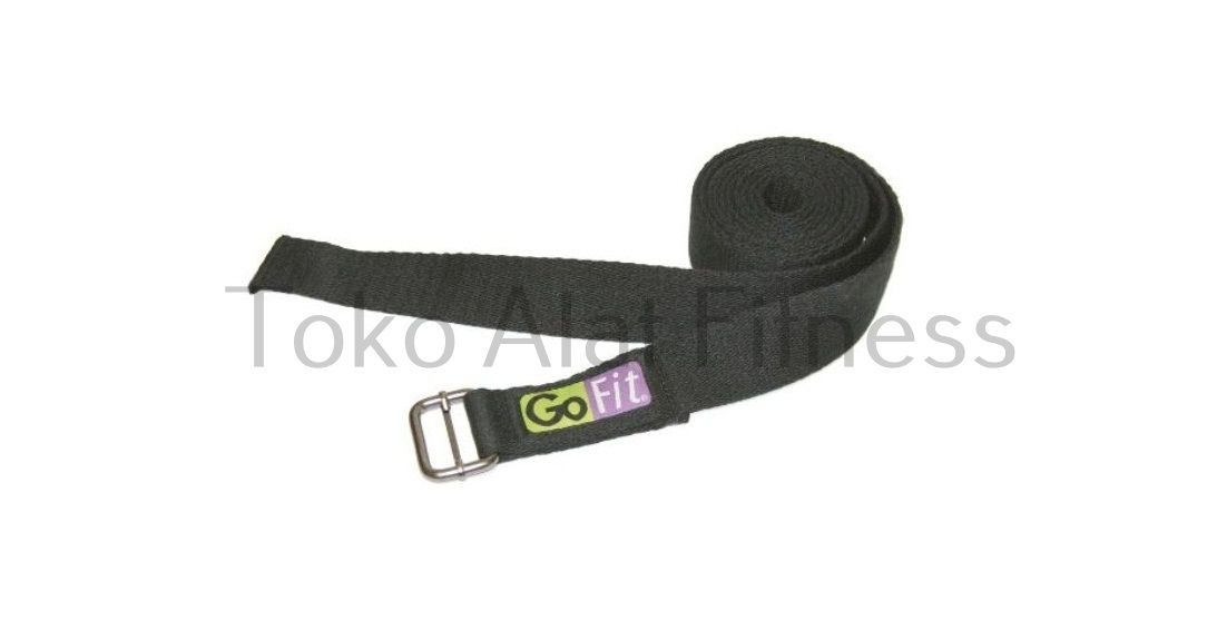 YOGA STRAP GO FIT a - Yoga Strap Hitam Go Fit