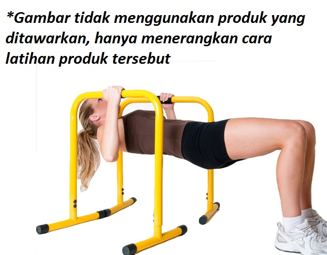PUSH UP STAND YWLLOW 6 - Dipstand / Push Up Stand Hitam Body Gym