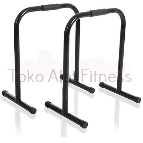 dip stand black fix ya - Dipstand / Push Up Stand Hitam Body Gym