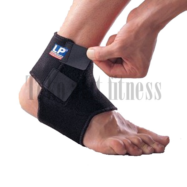 Adjustable Ankle Black 768 - LP Support Adjustable Ankle Black (768)