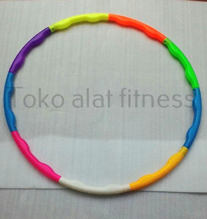 ula hoop warna warni 70cm baru - Hula Hoop Warna Warni 70cm Body Gym