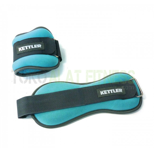 ankle weight WTR - Kettler Ankle Weight/Foot Band 1Kg, Biru