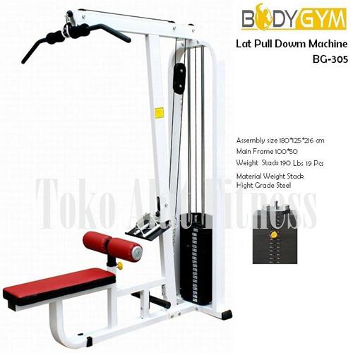 Lat Pull Down Machine AMA 305 wtr ac - Lat Pull Down Machine Body Gym Plus