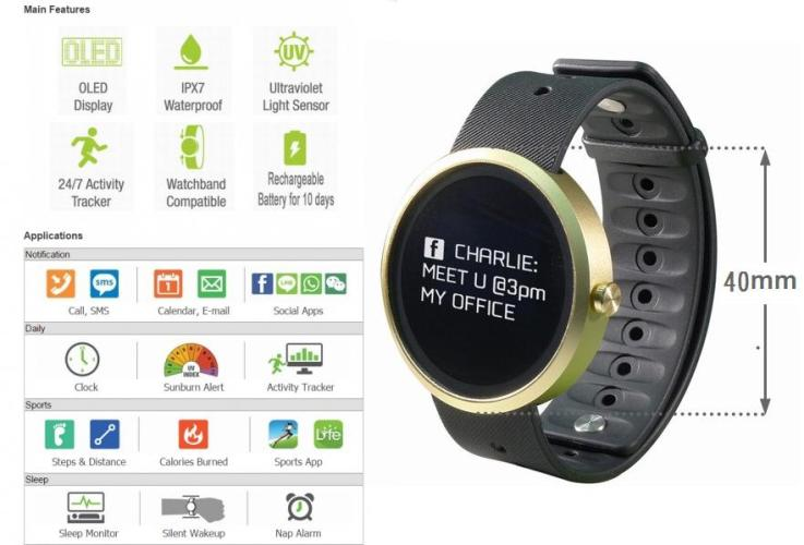 Q-72 Fitness Watch with Smart Notification5