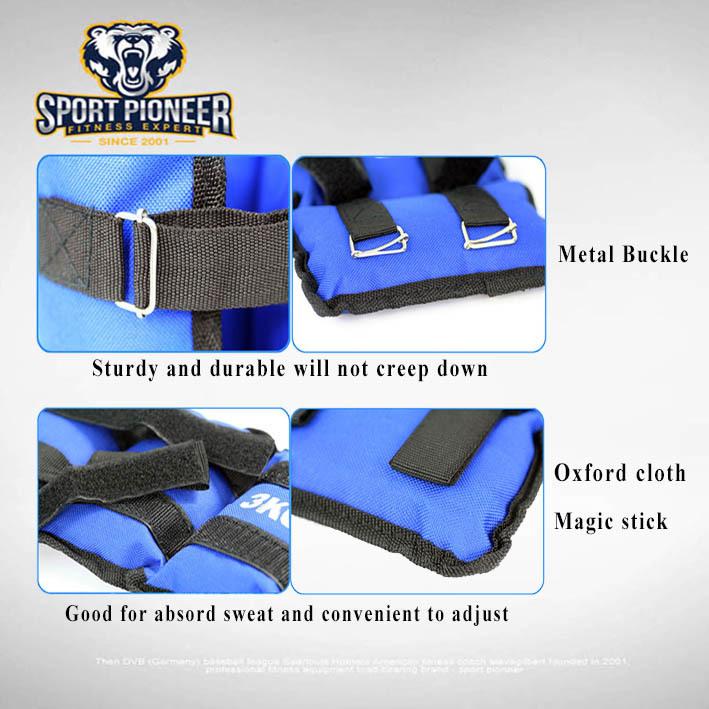 Ankle Weight Sport Pionner 4 - Ankle Weight 5kg  Biru Sport Pioner