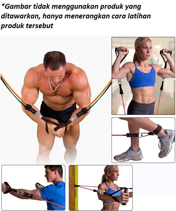 Body Gym Resistance Band Set Lbs 3 - Resistance Band Set Lbs Body Gym