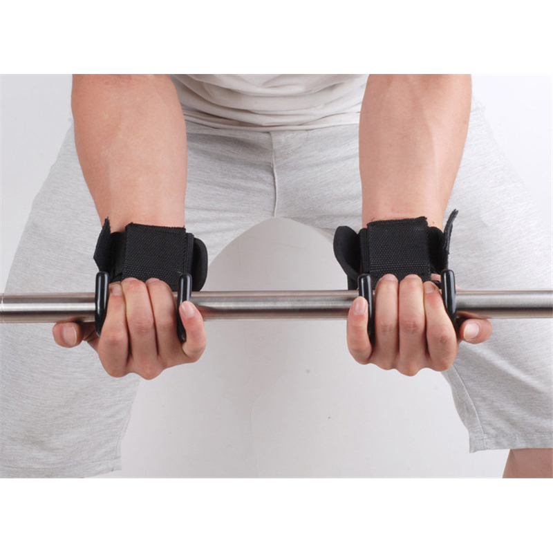 Weight Lifting Hooks 4 - Body Gym Weight Lifting Hook