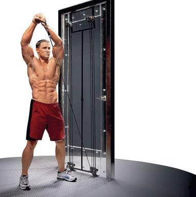 tower 200 workout 2 - Tower 200 With Exercise Bar Body Gym - ASSTRX14