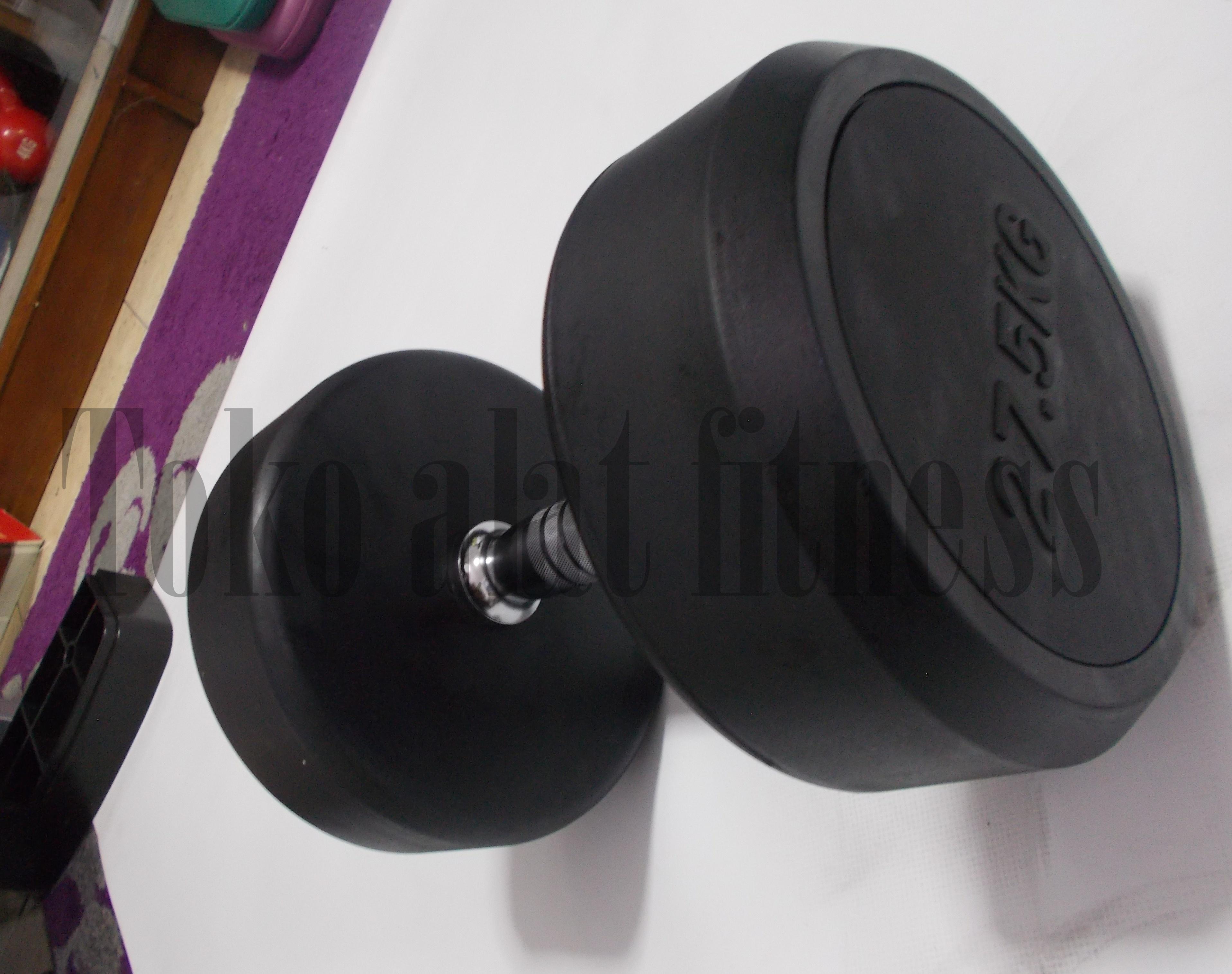 Body Gym Dumbell Fix Rubber 275kg Toko Alat Fitness Baarbeel 5kg Indonesia