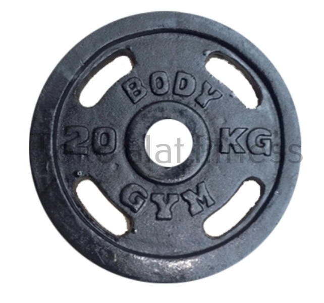 Iron Plate 5cm 20kg Body GYm - Iron Plate 5cm 20 Kg Body Gym - IPB57