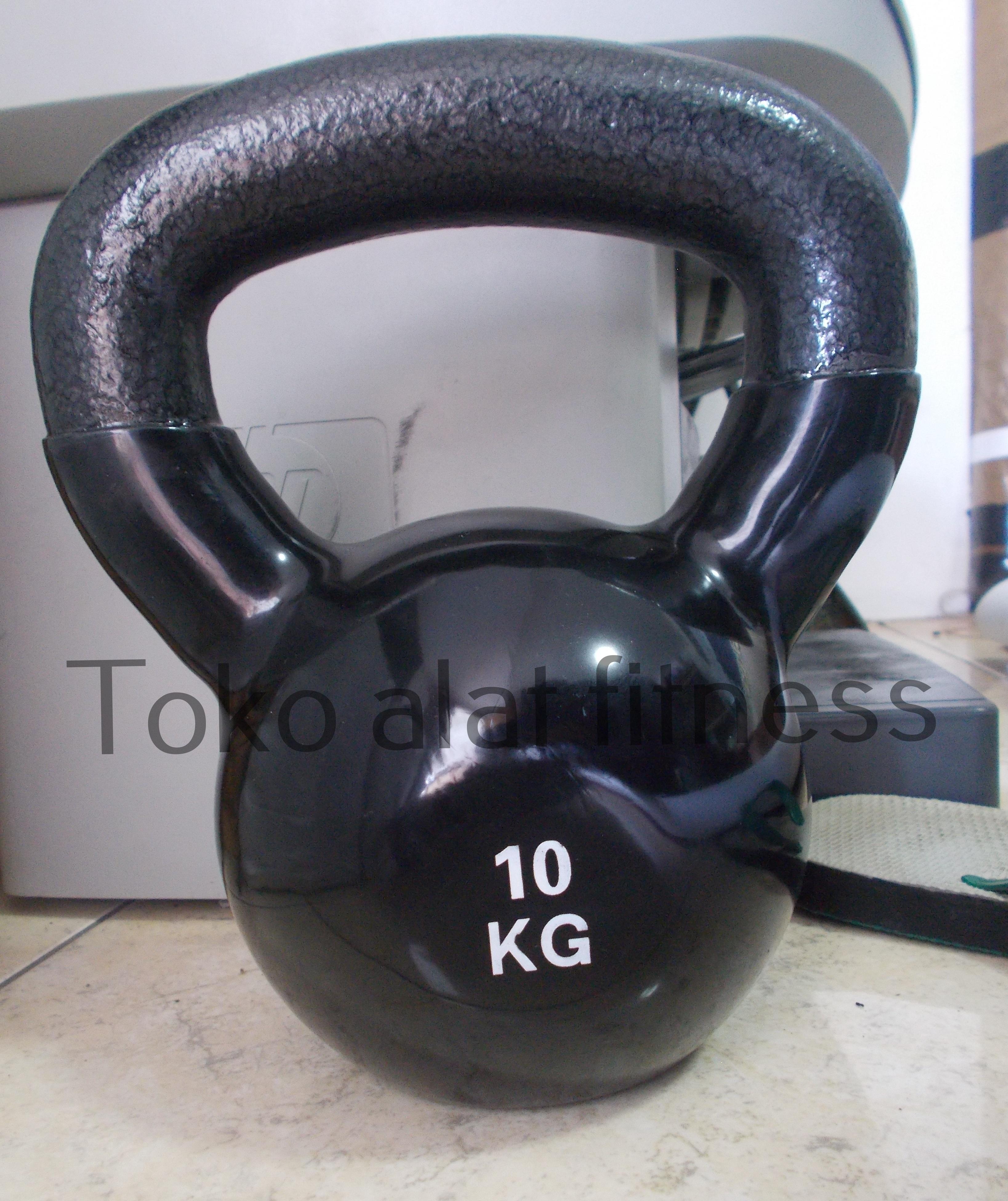 Kettlebell Vynil 10kg Body Gym - Kettlebell Vinyl 10kg (Import) Body Gym