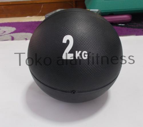Medicine Ball 2kg - Medicine Ball 2kg Hitam (Mantul/mendal) Body Gym