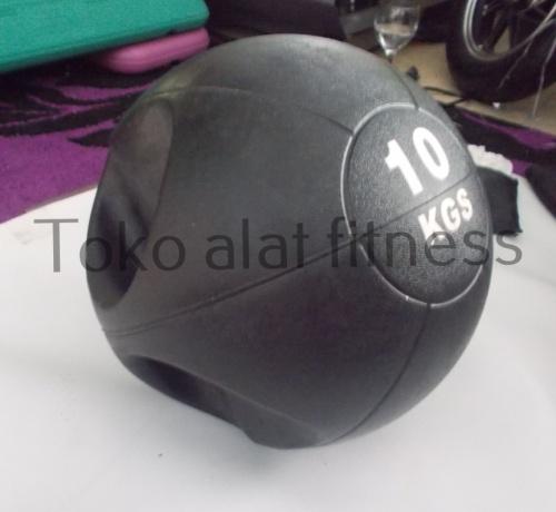 Medicine Ball Grip 10Kg Body Gym - Medicine Ball Grip 10kg (Mantul/mendal) Body Gym