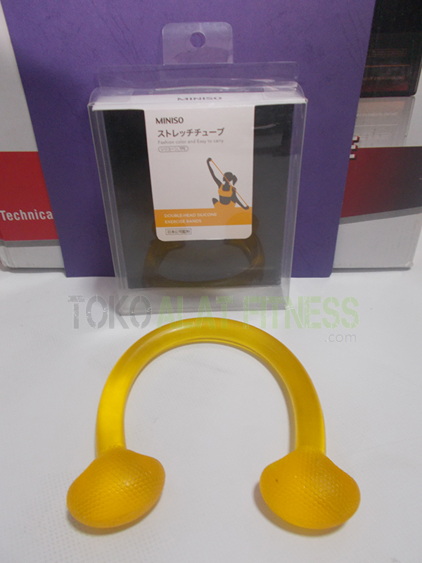 aerobic trimmer jelly real kuning wtr 2 - Exercise Band Jelly Angrop Orange