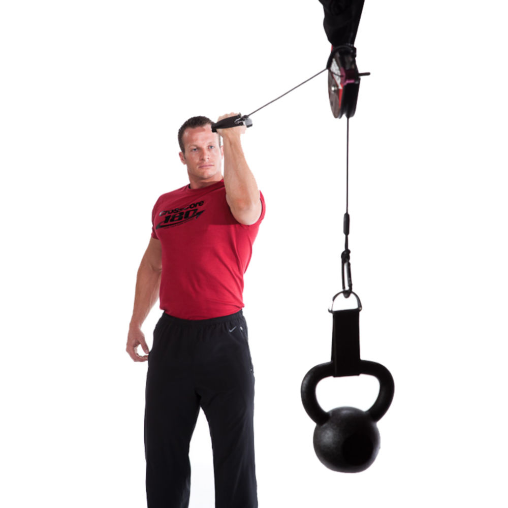 crosscore KBRS Curl large - Crosscore 180 Rotational Trainer Body Gym