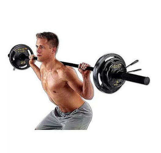iron plate workout2 15 - Iron Plate 5cm 7.5 Kg Body Gym