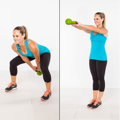 kettlebell vynil workout 2 1 - Kettlebell Vinyl 12kg (Import) Hitam Body Gym