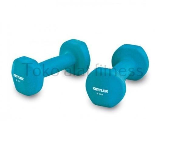 neoprone dumbell blue 6kg 1 - Dumbell Neoprone 8kg, Blue Kettler
