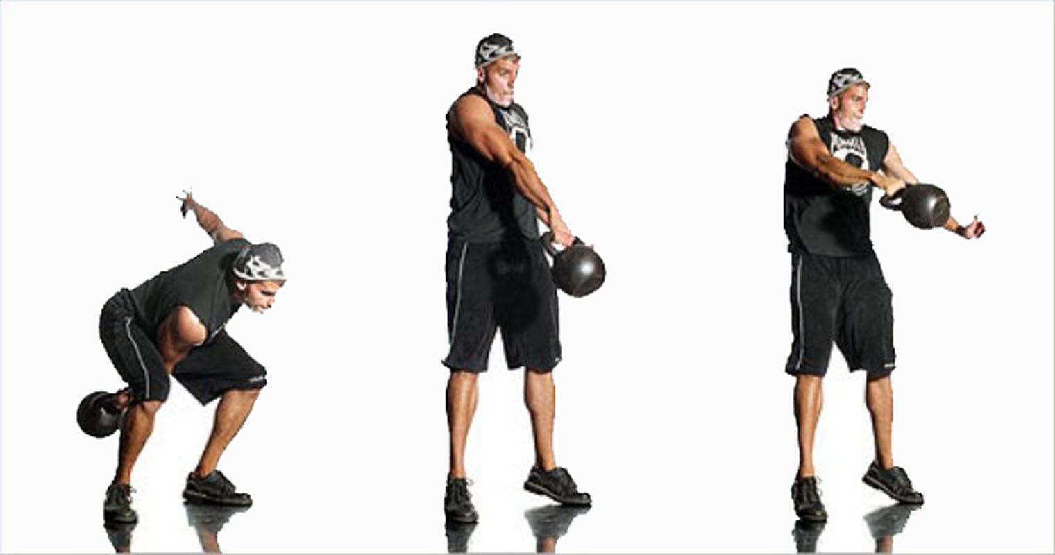 exsercise kettlebell 10 - Kettlebell 6kg (Lokal) Body Gym - ASSKT17A