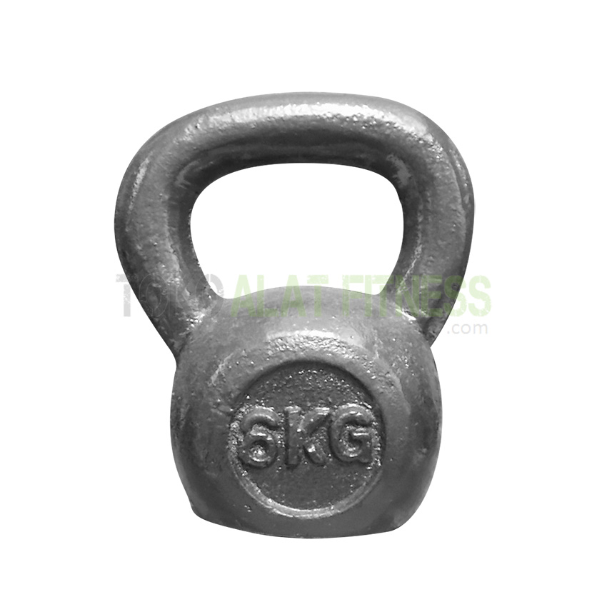 kettlebell lokal 6kg body gym wtm - Kettlebell 6kg (Lokal) Body Gym - ASSKT17A