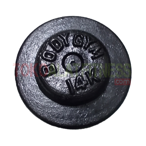 Dumbell fix iron 14kg 2 wtm - Dumbell Fix Iron 14kg Body Gym