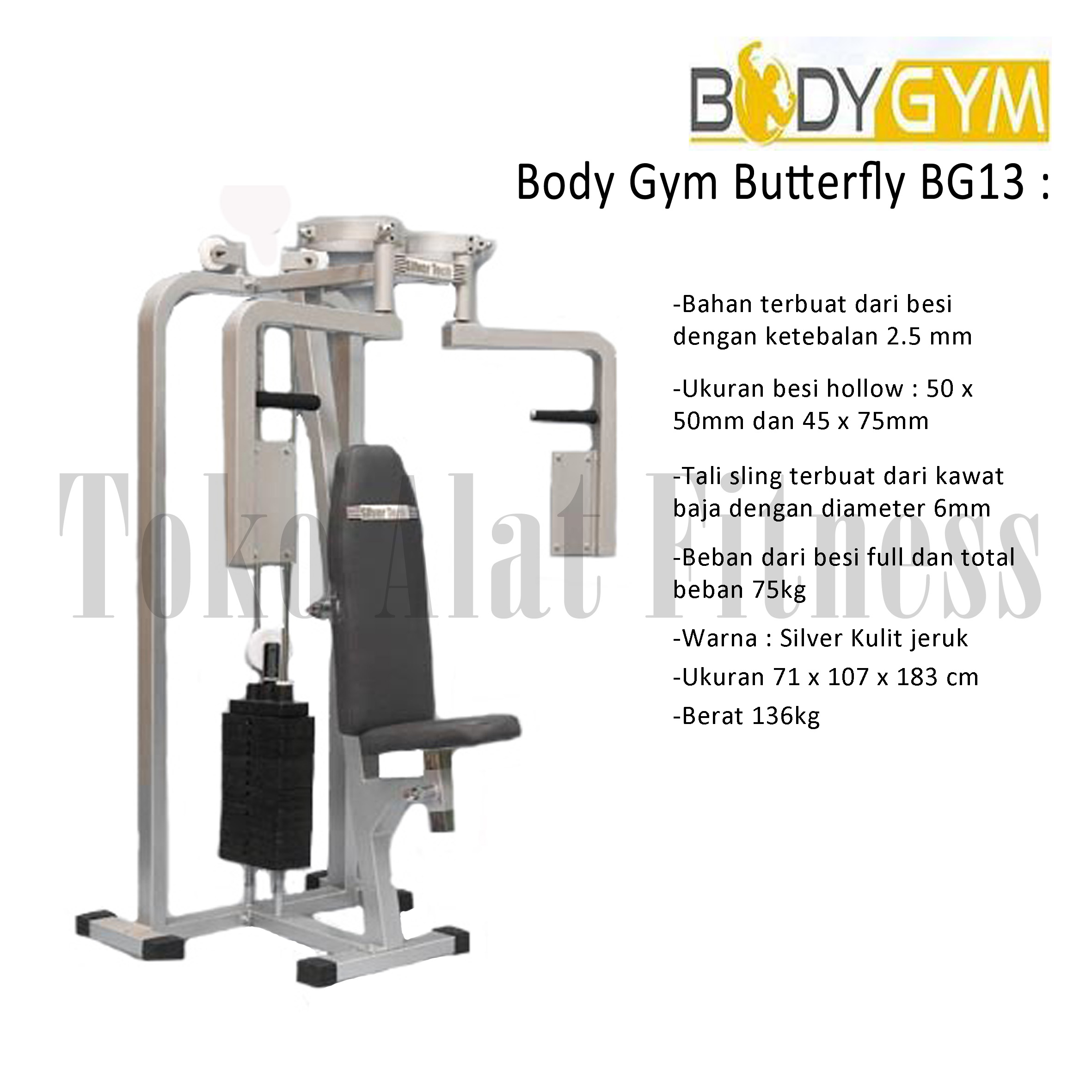 BUTTERFLY BG 2 - Body Gym Butterfly ( Lokal )