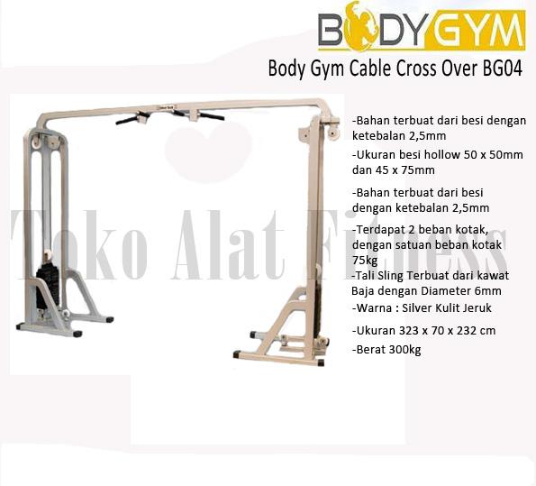 CCO BG WTR - Body Gym Cable Cross Over ( Lokal )