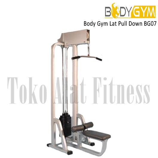 LAT PULL DOWN only pict wtr - Body Gym Lat Pull Down ( Lokal )