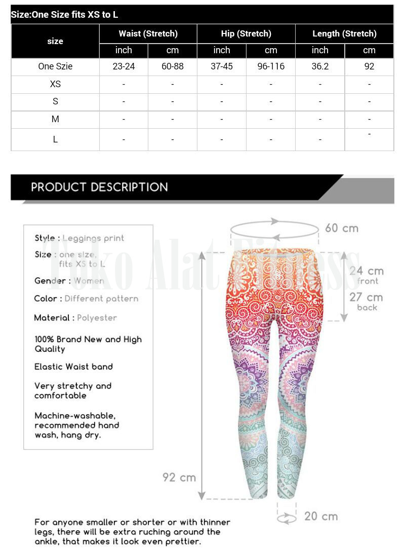 Legging Aztec Round Ombre Fitness Orange e - Legging Ombre Fitness Orange Aztec - ASSPF4A