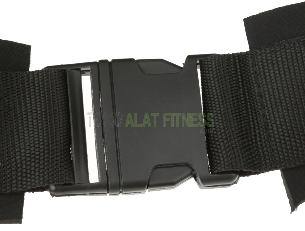 Resistance Band Bounce Trainer and Ankle Strap Hitam wtr 8 - Resistance Band & Ankle Strap Bounce Trainer Hitam Body Gym