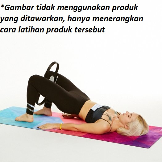 pilates ring workout 7 - Pilates Ring Ungu Body Gym - ASSP27D