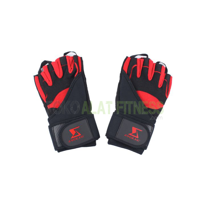 evolve weight glove wtr b - Hit Weight Lifting Glove Size M Evolve