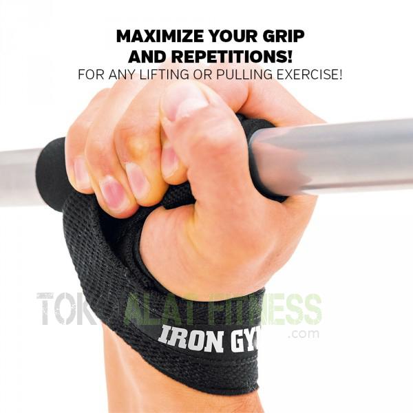 iron gym lifting strap a - Iron Gym Lifting Strap