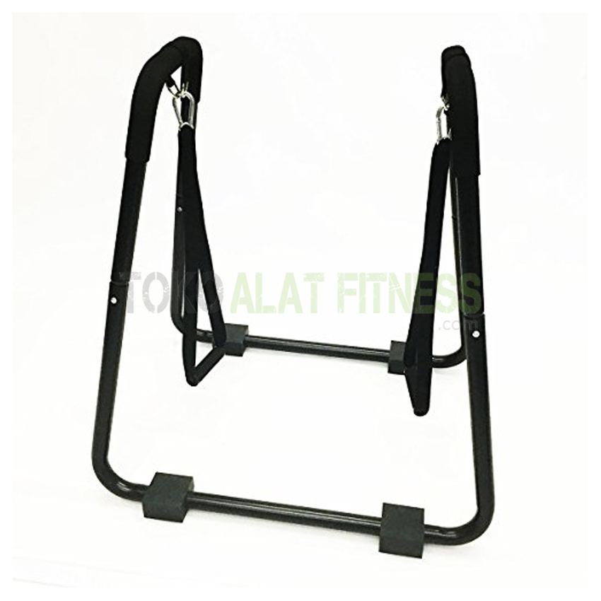 Body Gym Dipstand Handle 2 - Dipstand Push Up Stand Equalizer Paraler Bar with Handle Body Gym