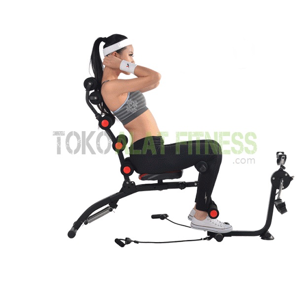 SIX PACK CARE WITH EXERCISE BIKE work wtr - Six Pack Care With Exercise Bike Body Gym
