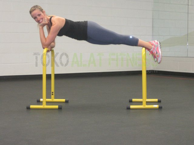 push up stand equalizer wtr d - Dipstand Push Up Stand Equalizer Parallel Bars Body Gym - ASSPU21B-1