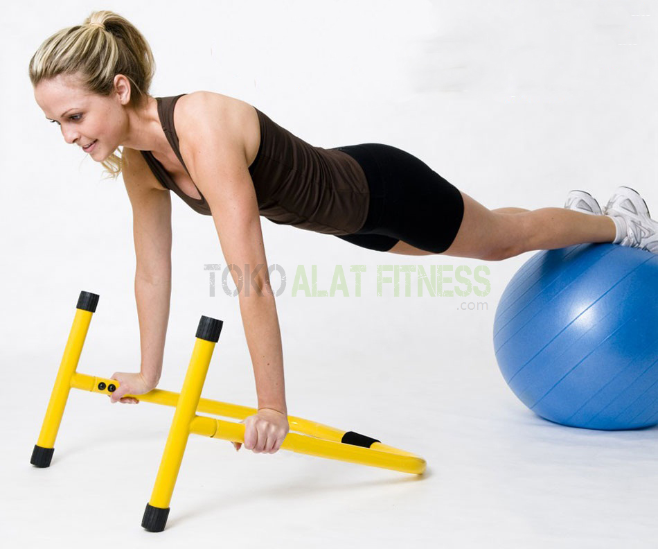 push up stand equalizer wtr e - Dipstand Push Up Stand Equalizer Parallel Bars Body Gym - ASSPU21B-1
