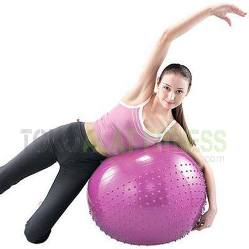 Exsercise Gymball Two Way wtr - Body Sculpture Gymball Two Way 65cm, Pink