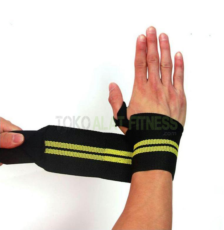 Hand Wrap Bandage Strap Gym kuning wtr a - Hand Wrap Bandage Strap Gym,Kuning Body Gym