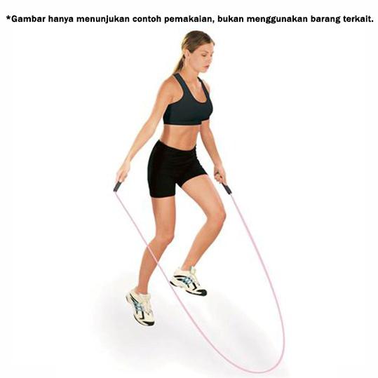 Skipping Workout wtm - Skip Soft Hand With Counter Biru Tua Jump Rope