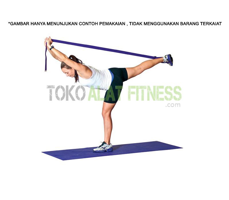 Yoga Strap Exercise TEKS - Yoga Strap 3.8 x 180cm Green Body Gym