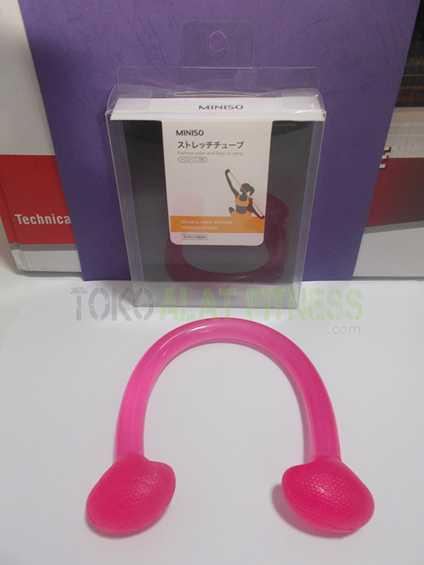 aerobic trimmer jelly real pink wtr 2 - Body Gym Exercise Band Jelly, Pink