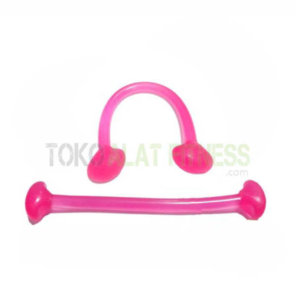 aerobic trimmer jelly real pink wtr - Body Gym Exercise Band Jelly, Pink