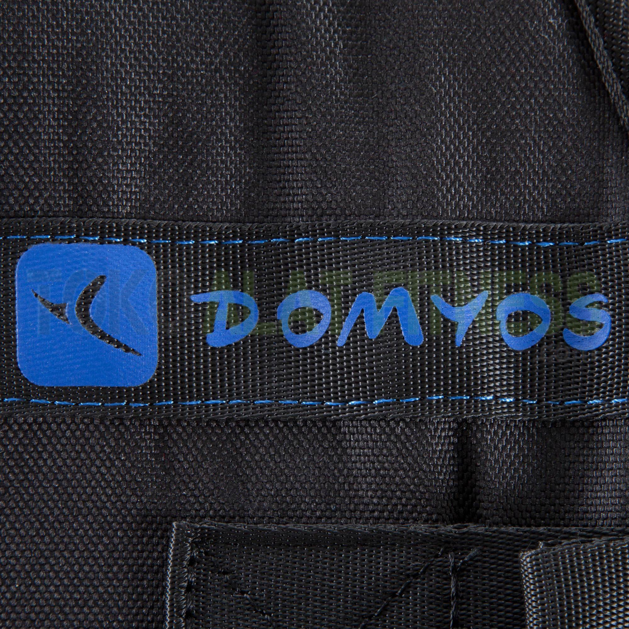 rompi pemberat domyos wtm 5 - Weight Vest/Rompi Pemberat 10kg Domyos - ASSAW39